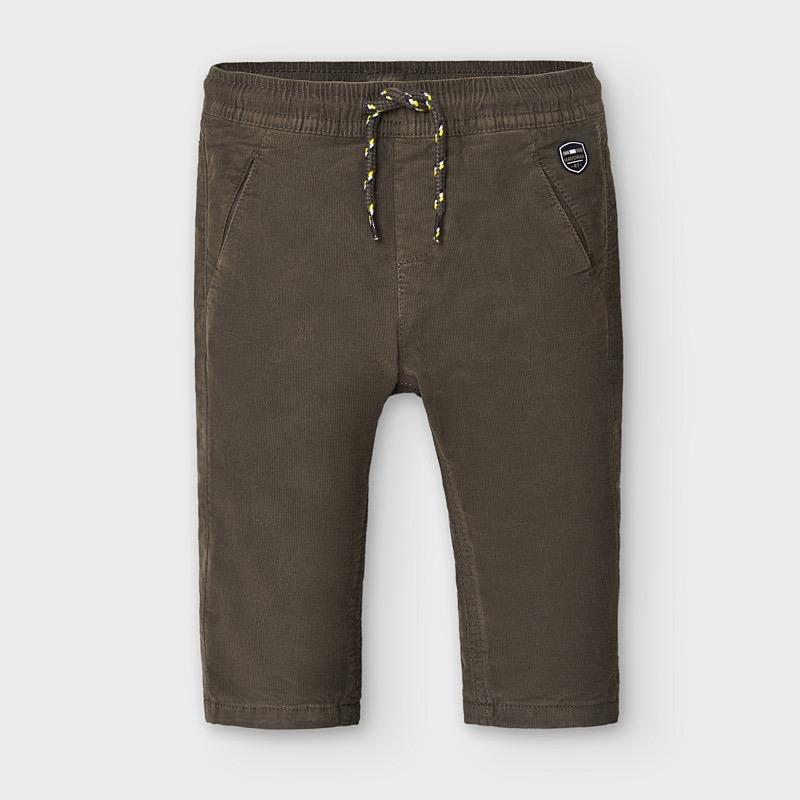 Mayoral mayoral micro-cord lined pants