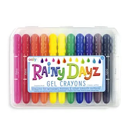 ooly ooly rainy day gel crayons (set of 12)
