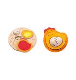 plan toys (faire) plantoys chicken puzzle 12m+