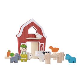 plan toys (faire) plantoys planworld farm set 3y+