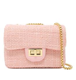 zomi gems classic tweed bag - P-63777