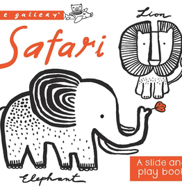 Quarto Publishing Group USA wee gallery: safari, a slide and play book