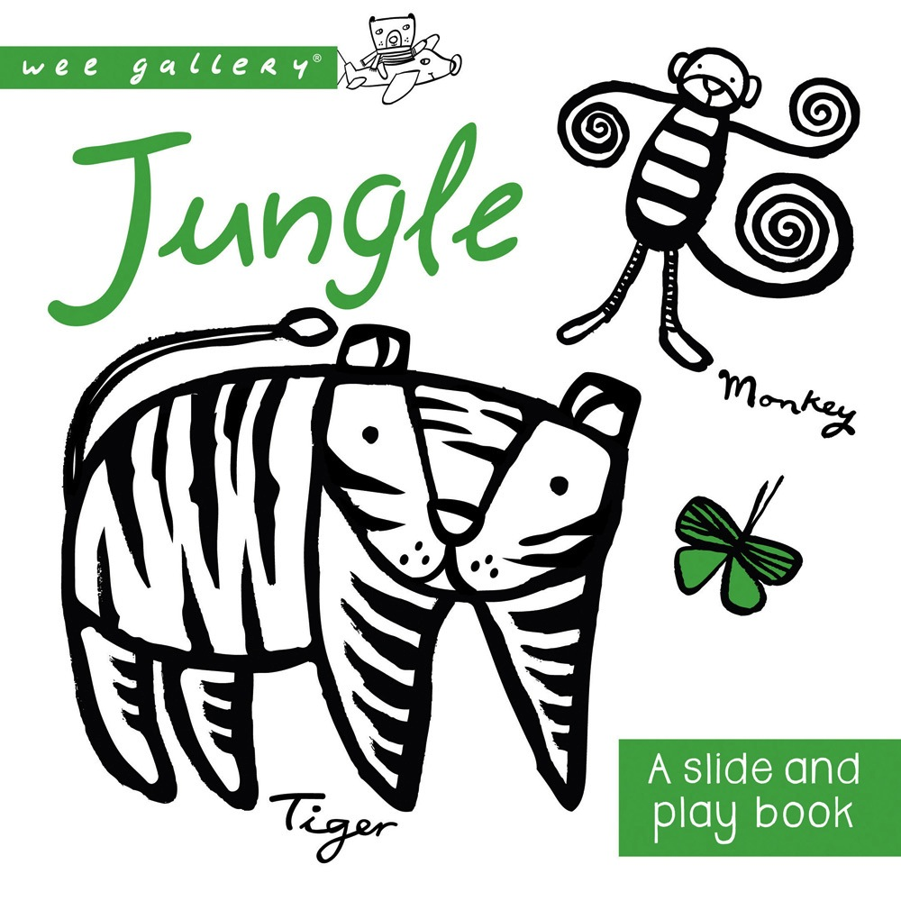 Quarto Publishing Group USA wee gallery: jungle, a slide and play book