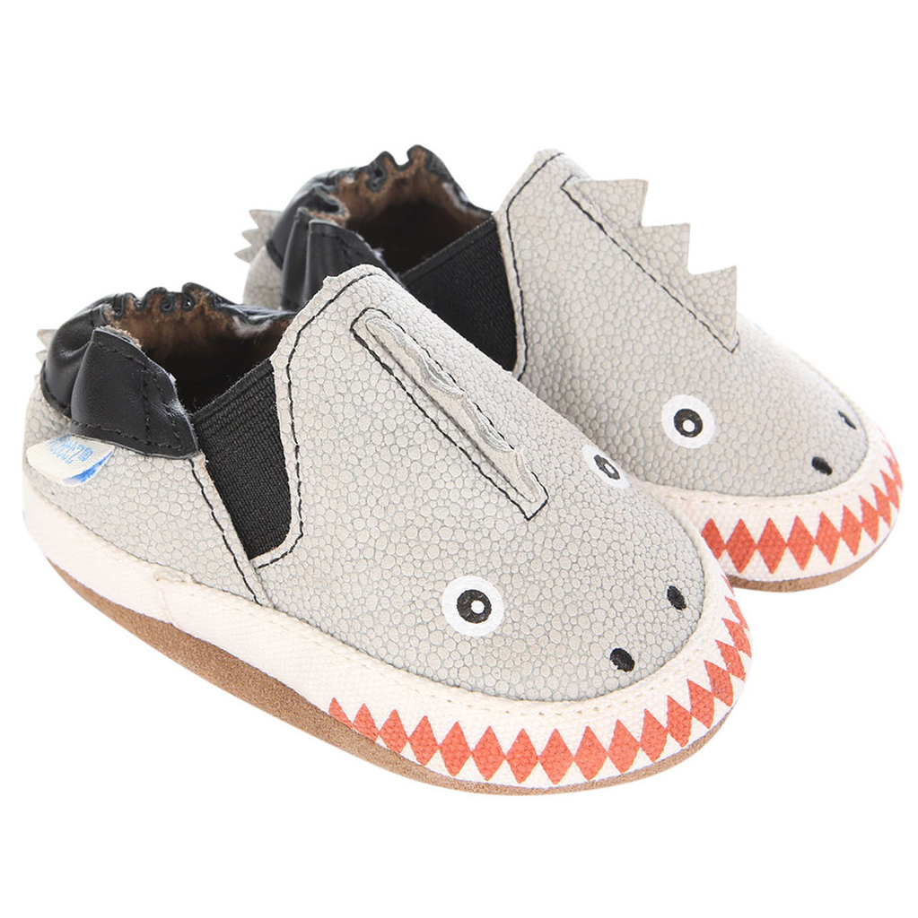 robeez robeez dino dan soft sole shoes