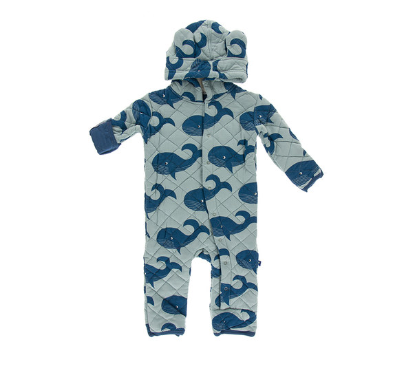 kickee pants quilted coverall
