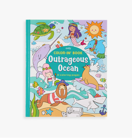 ooly color-in book: outrageous ocean