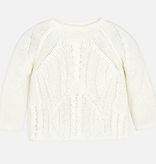 Mayoral mayoral cable knit sweater