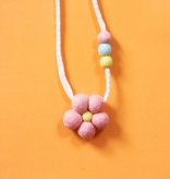 whimsical woolies (faire) woolies diffusing necklace, flower power