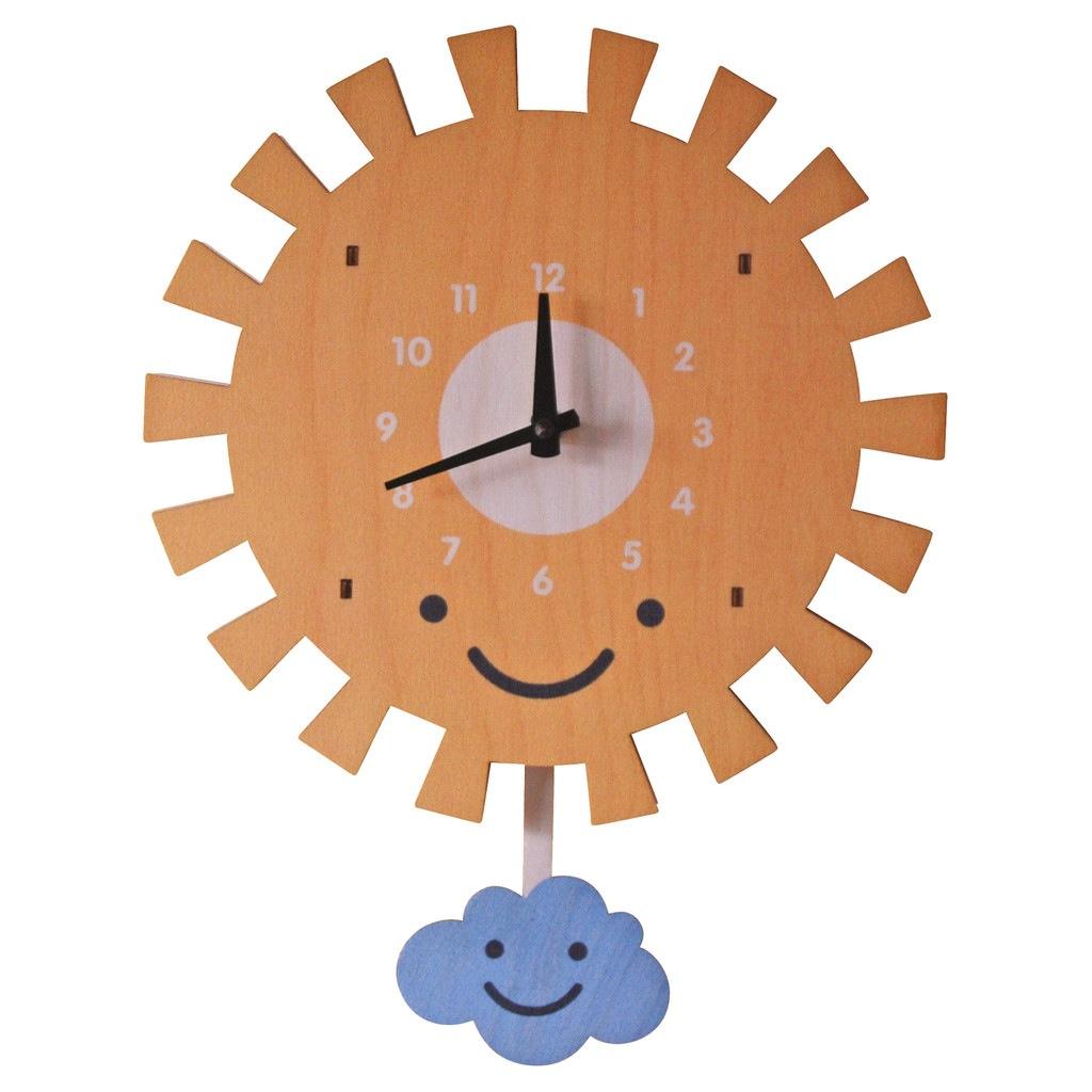 modern moose modern moose sun pendulum clock