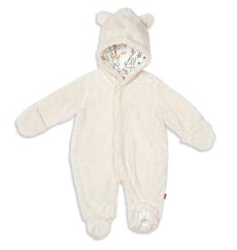 magnetic me magnetic baby bear minky footie