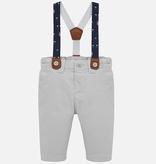 Mayoral mayoral pants w/suspenders