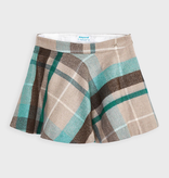 Mayoral mayoral plaid skirt