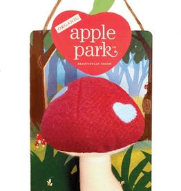 Apple Park apple park mushroom rattle, red