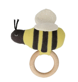 meri meri meri meri bumblebee baby rattle