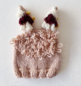 the blueberry hill llama hat