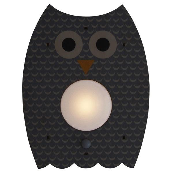 modern moose modern moose grey owl nightlight