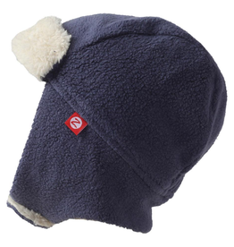 Zutano zutano fleece & furry trapper hat