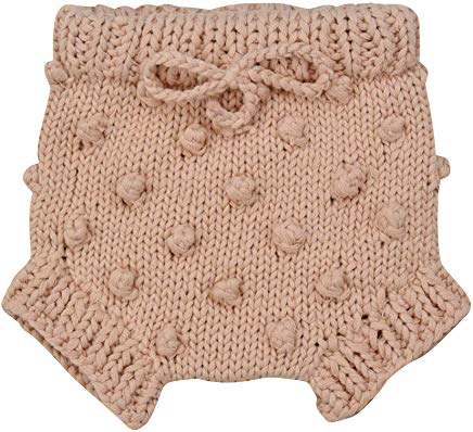 the blueberry hill knit dot bloomers