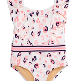 shade critters one piece ruffle shoulders suit