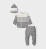 Mayoral mayoral knit set w/hat