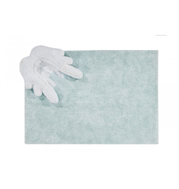 """lorena canals lorena canals washable rug, puffy wings, 4'7"""" x 6'7"""""""