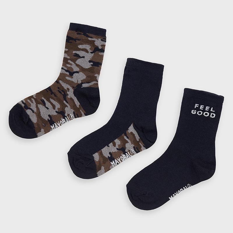 Mayoral mayoral 3 pair sock set