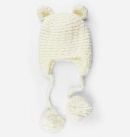 the blueberry hill sam bear crocheted hat