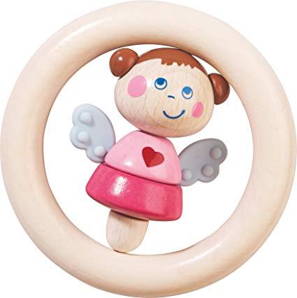 Haba haba clutching toy guardian angel