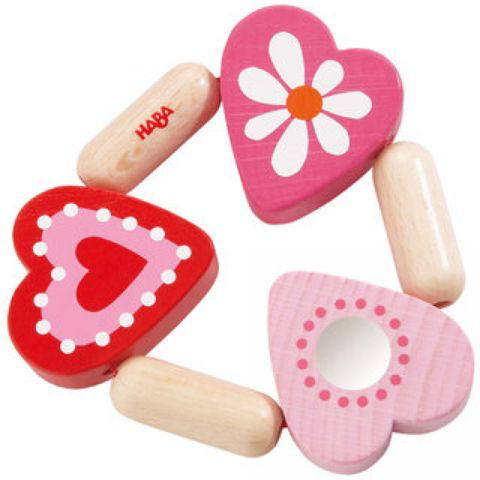Haba haba clutching toy blooming heart