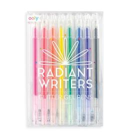ooly radiant writers glitter gel pens