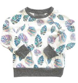 miki miette miki miette graphic pullover - P-57731