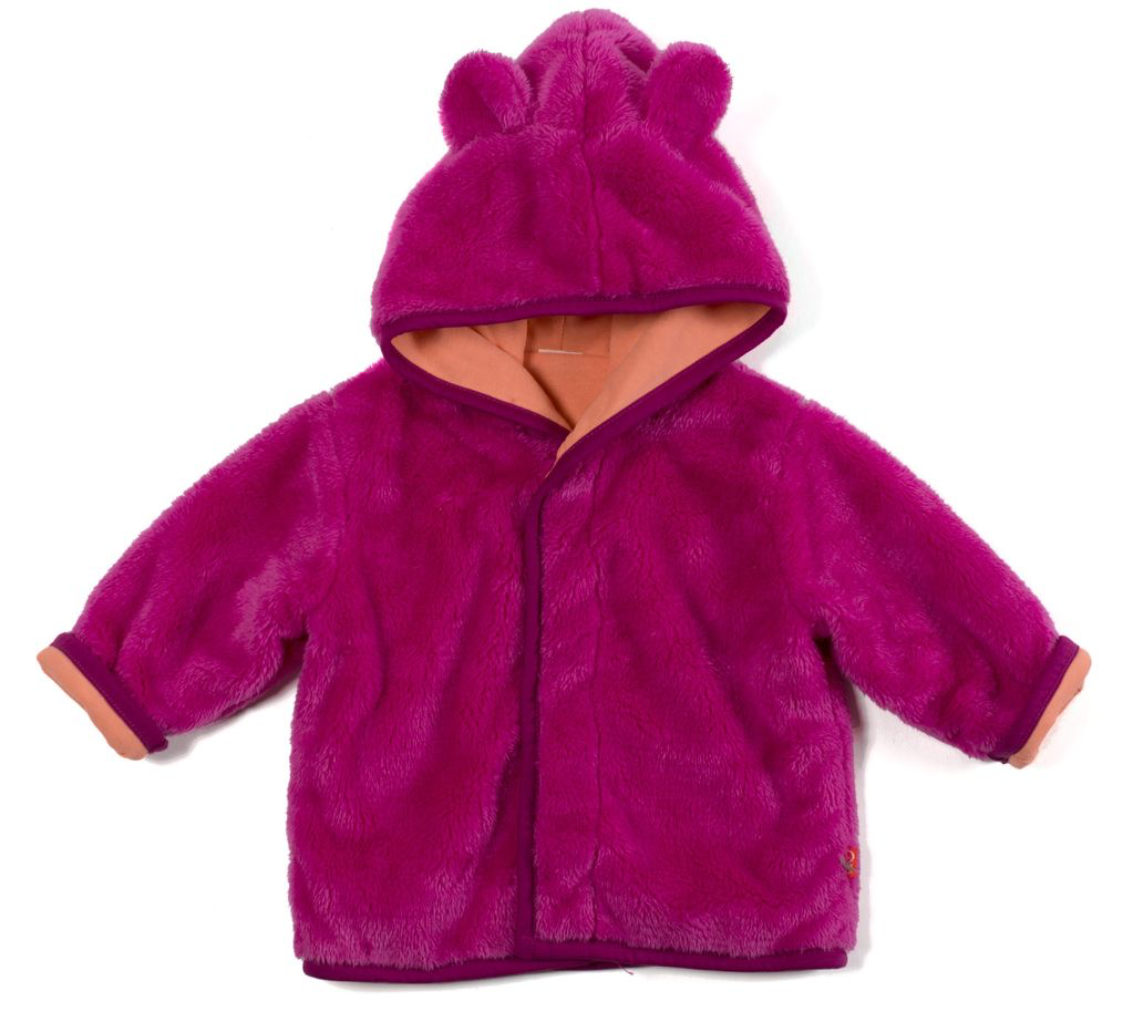 magnetic me magnificent baby minky hooded jacket