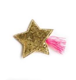 Hello shiso hello shiso glitter star clip, pink