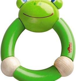 Haba haba clutching toy croaking frog