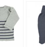 Petit Oh petit oh knit sweater and pant set
