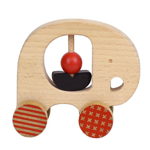 Petit Collage wooden push toy