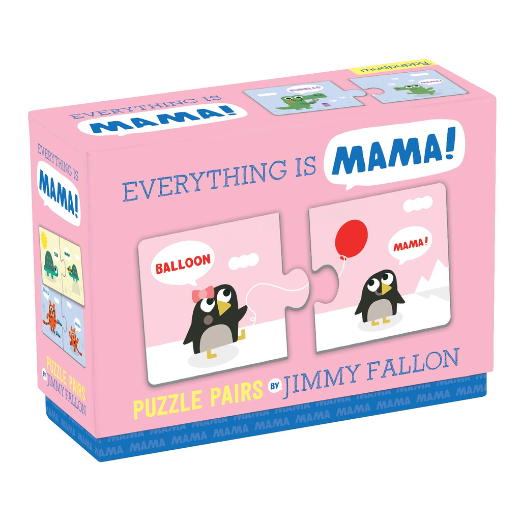 hachette everything is mama puzzle - jimmy fallon