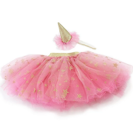 mon ami mon ami tutu skirt and party hat dress up set