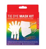 kikkerland tie dye mask kit - kid size