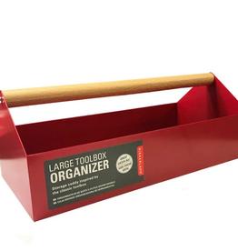 kikkerland toolbox organizer, large
