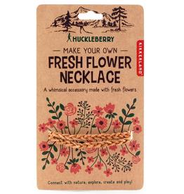 kikkerland huckleberry flower necklace