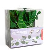 kikkerland ivy string lights