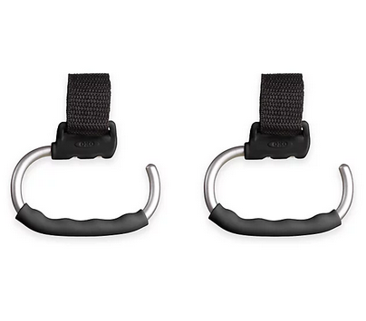 OXO International, LTD. oxo tot stroller hooks (2) - grey