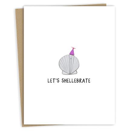 rockdoodles (faire) let's shellebrate card
