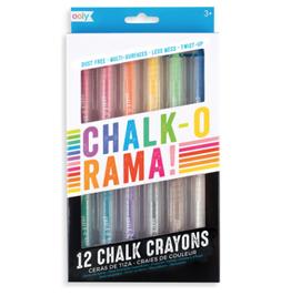ooly chalk-o-rama dustless chalk, set of 12