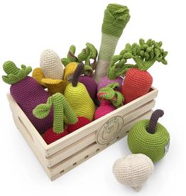 myum organic hand crocheted rattle