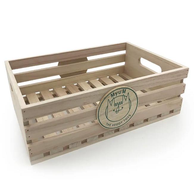 myum wooden crate