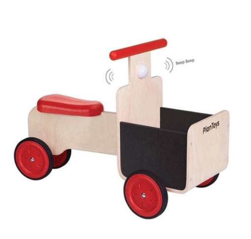 plan toys (faire) plantoys delivery bike 18m+