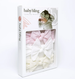 baby bling baby bling gift box of knots