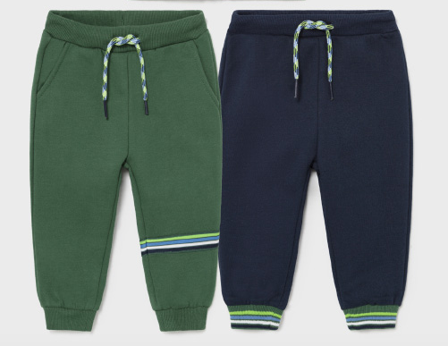 Mayoral mayoral cotton joggers